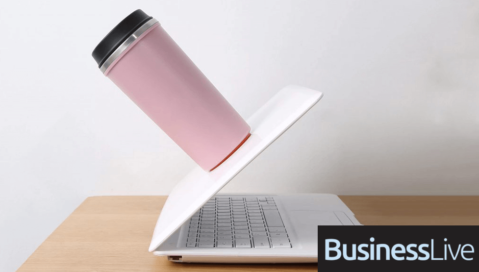 business live Magic Suction Mugs