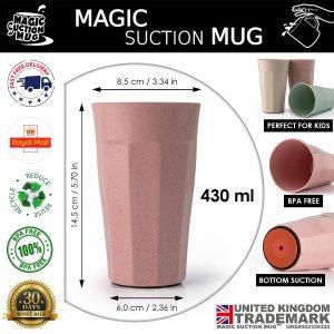magic suction mug brio 0002 selected colour image brio strawberry Magic Suction Mugs