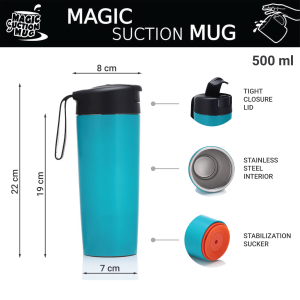 Classic 03 Magic Suction Mugs