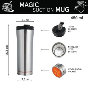 BLOOM2 Magic Suction Mugs