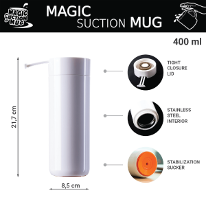 HEYDAY 06 Magic Suction Mugs