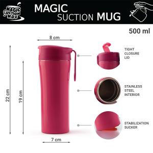 GRABBY 03 Magic Suction Mugs