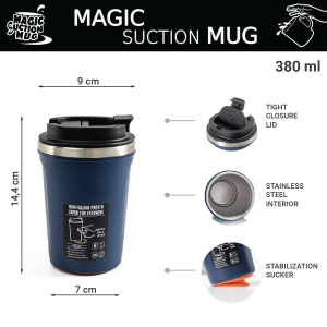 dainty 03 Magic Suction Mugs